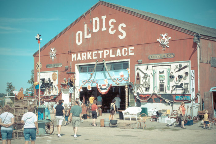 A stop at Oldies Marketplace should definitely be on your list of great weekend day trips.