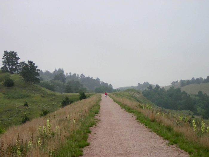 Today, the trail is maintained by the Nebraska Game and Parks Commission. The conversion from rail to trail has been handled by the NE Game and Parks Commission as well.