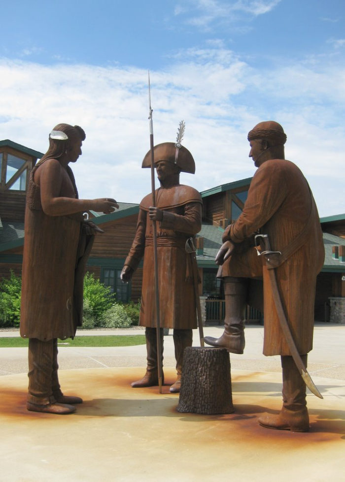19. It's where Lewis and Clark spent most of their time on their expeditions, and it was considered their favorite place.
