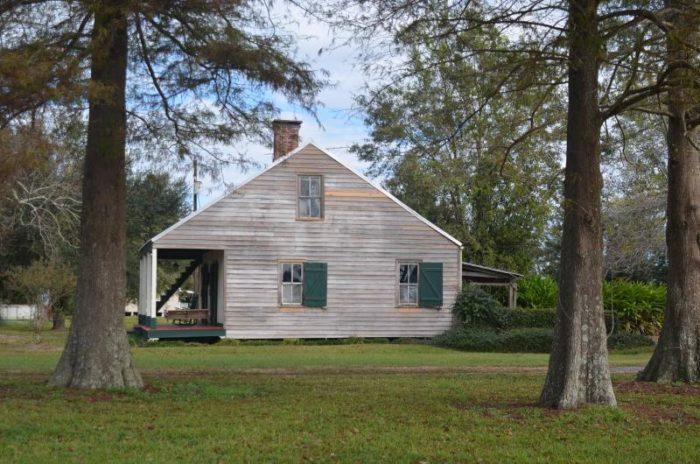 Merveilleux 1) Four Cypress Acadian Cabin
