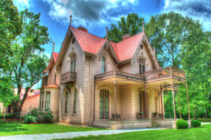 Airliewood has always been considered one of the grandest houses in Holly Springs, and now it's also considered one of the south's most important landmarks.