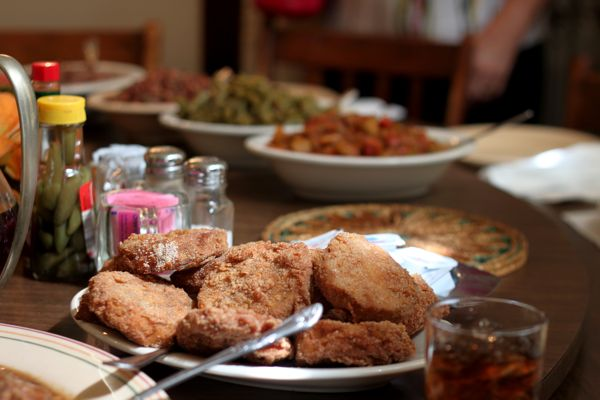 The only thing customers can't seem to agree on is which of the Dinner Bell's two specialties is the best - the fried chicken...