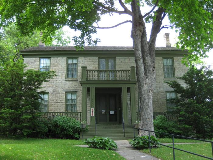 The Warden's House, Stillwater
