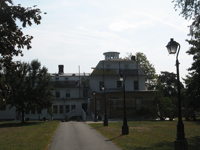 5. The haunting of Governor Sprague Mansion