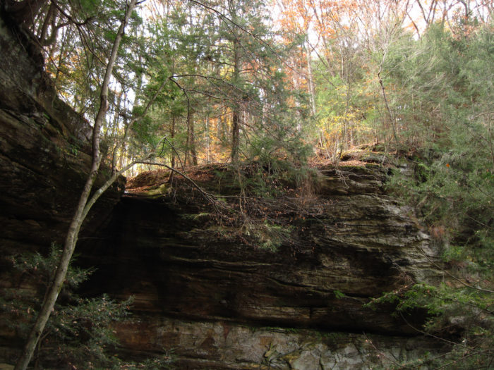Cantwell Cliffs is one of the most scenic areas in the Hocking Hills. If you love an inspirational hike, be sure to put it on your Ohio bucket list.