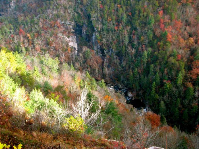8. Tallulah Gorge State Park—338 Jane Hurt Yarn Rd, Tallulah Falls, GA 30573