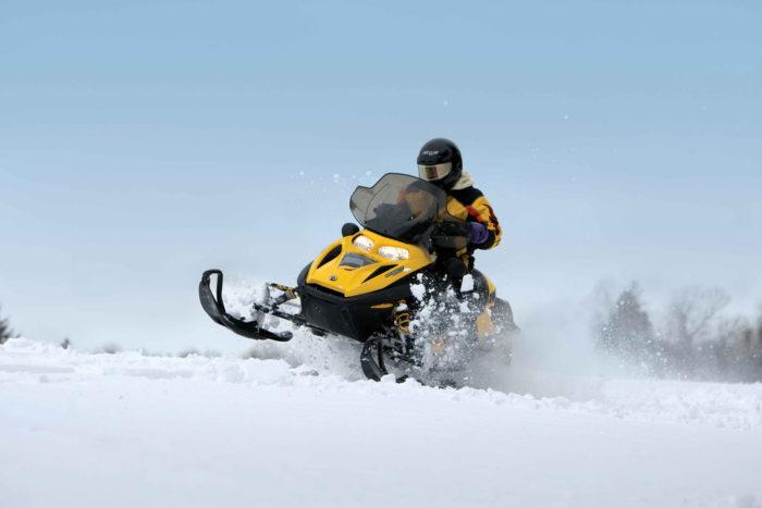 8. Snowmachine