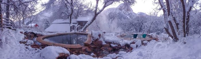 9. Avalanche Ranch Cabins & Hot Springs (Redstone)