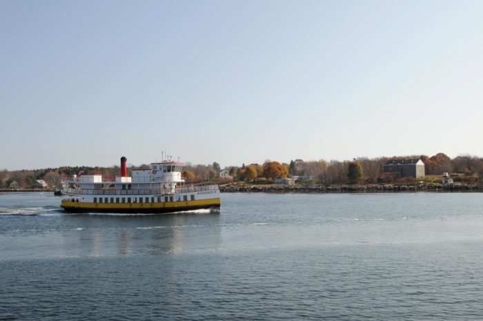 7. Ride the ferry from Portland to one Maine's gorgeous islands.
