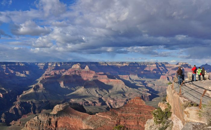 More specifically, Travel + Leisure highlights Mather Point, an area that underwent extensive improvements from 2009 to 2012. This spot on the South Rim gives an incredible view of the majestic canyon, which stretches 227 miles, in some places up to 18 miles wide, and over a mile deep.