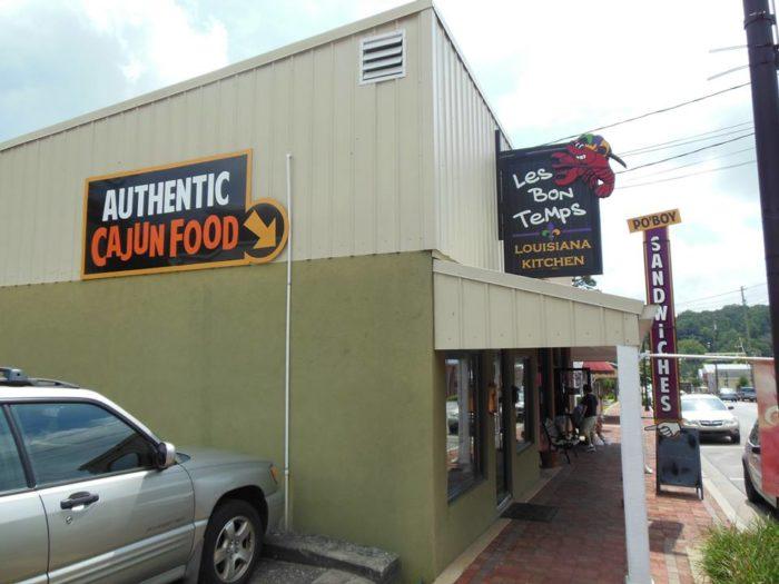 2. Les Bon Temps Louisiana Kitchen—248 Gilmer Ferry Rd, Ball Ground, GA 30107-2906