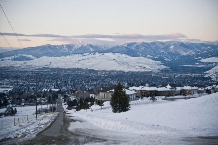 It's probably not surprising that Montana can get so cold when you look at its location on the map, but residents know there's a big difference between the eastern and western regions of the state when it comes to climate. Because the ranking was based on statewide average temperatures, colder regions of a state do bring down the average temperature for the whole state.