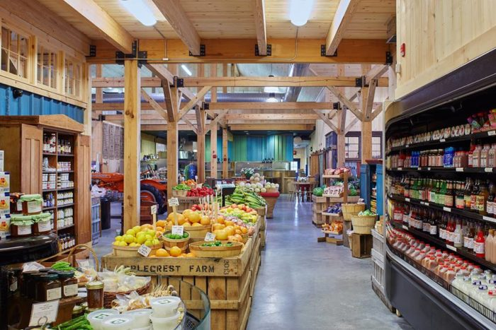 The farm market is open year round and sells everything you need to make your own farm-fresh treats at home.