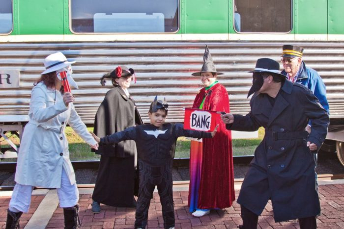 Get those costumes ready because you won't want to miss this fun, family train ride at the Oklahoma Railway Museum.