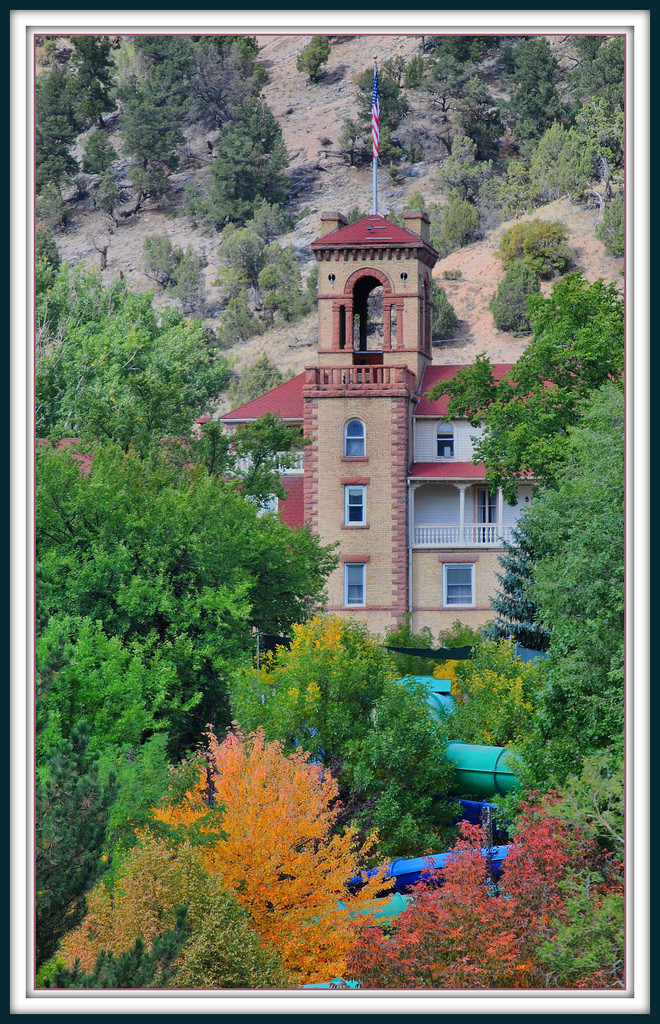 Founded as Defiance, Colorado in 1883 (and later renamed after being persuaded by the founder's wife) Glenwood Springs is a charming town that is chock-full of history with its still-standing Hotel Colorado, Doc Holliday's grave, and Colorado's second busiest train station (which is home to the Amtrak's California Zephyr).