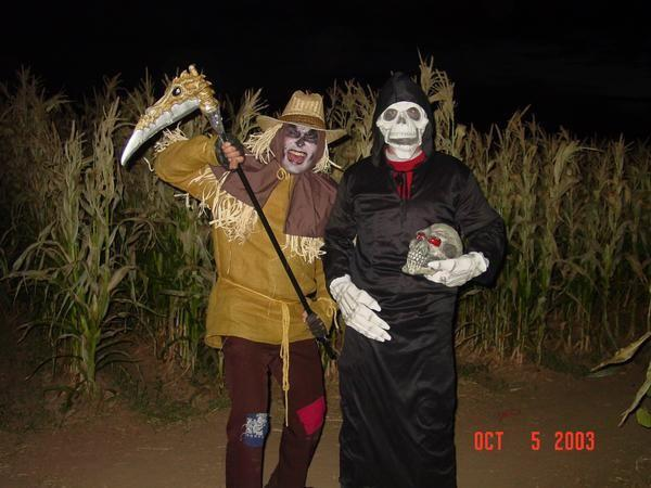 Friday, October 7th: Haunted Corn Maze