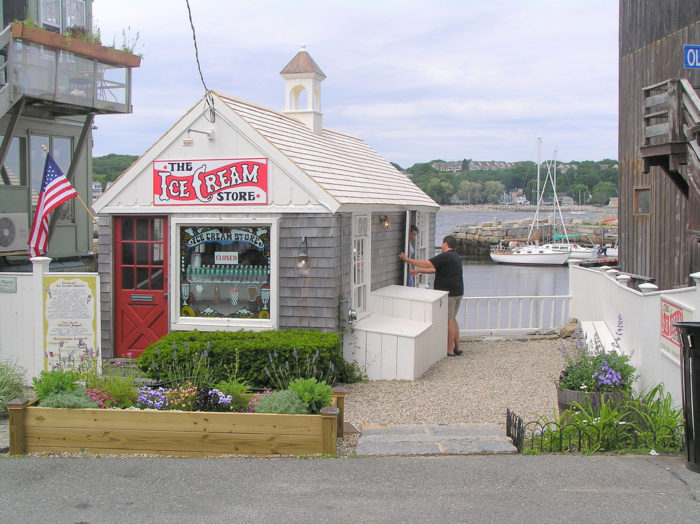 And what trip to Rockport would be complete without a little harborside ice cream? Check out the Ice Cream Store for a cone or cup of something creamy and delicious.