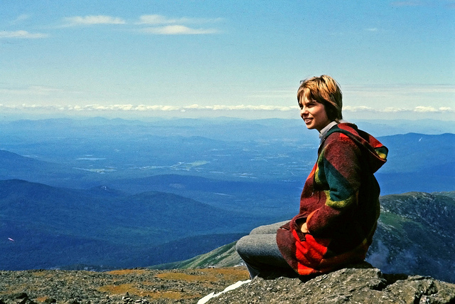 1. The view from the summit of Mount Washington in 1971 was just as stunning as it is today.