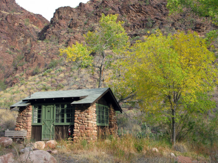 8. If you're planning to hike down the canyon, consider booking a stay at Phantom Ranch.
