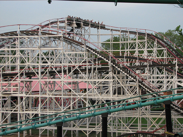 6. Roller coasters