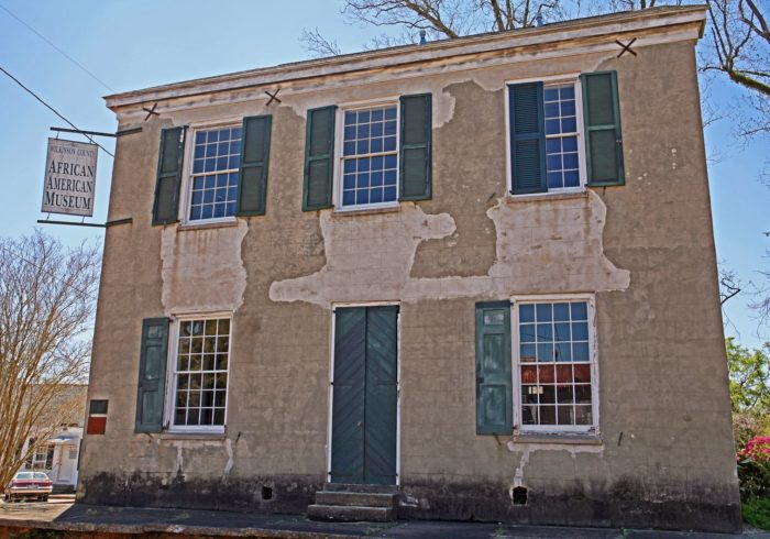 The historic Branch Banking House can also be found in downtown Woodville. Built in 1819, it's the oldest existing bank building the in the state and now serves as the African American Museum.