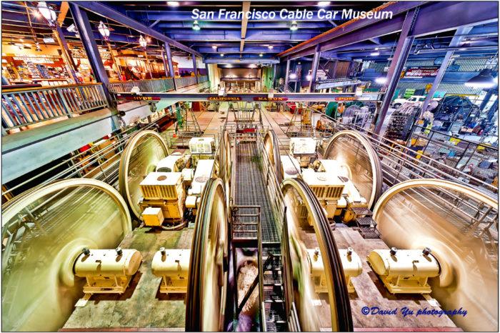 3. Cable Car Museum: 1201 Mason Street