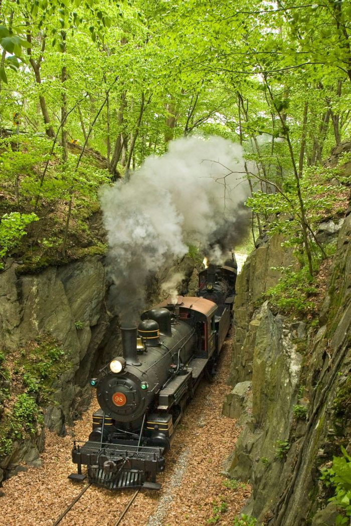 Your train car will zip through Northern Delaware, showing you places that cannot be seen from anywhere else.