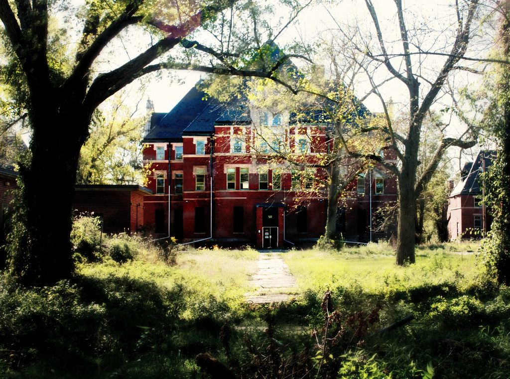 The Abandoned Remains Of Norwich State Hospital In