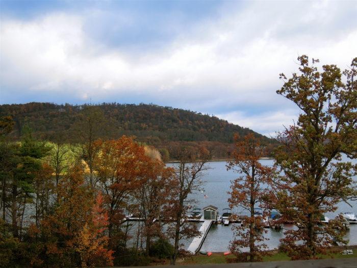 And exploring the great outdoors at Deep Creek Lake...