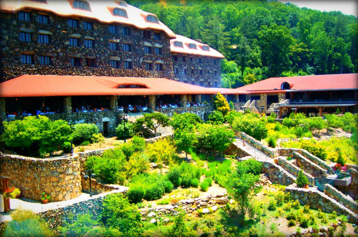 This restaurant in north carolina is located in the most unforgettable