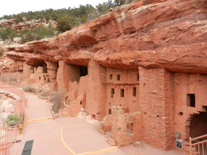 """Whenever you visit """"America's Mountain,"""" make plans to also visit a few of its surrounding attractions, which include the Cheyenne Mountain Zoo, Seven Falls, and Manitou Cliff Dwellings (pictured)."""