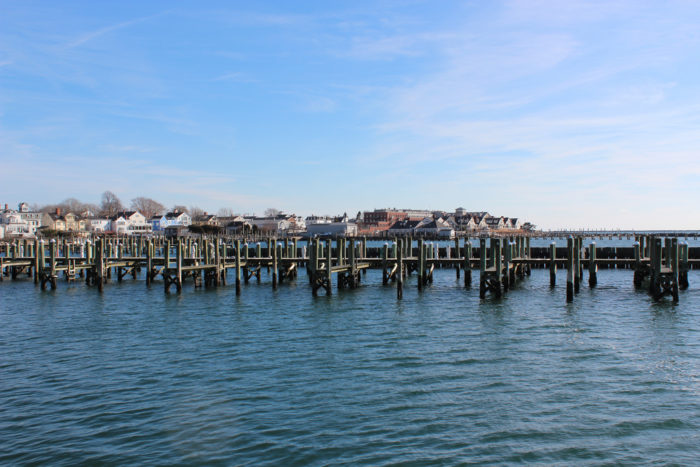 Walk the Stonington Harbor for a quiet retreat, complete with views of the coastal homes and passing boats.