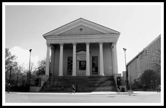 3. Longstreet Theater Green Room Ghost
