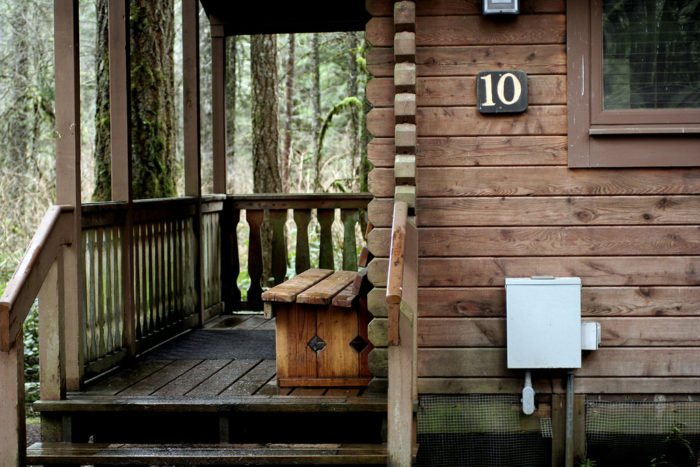If you want to stay overnight, simply bring a tent to pitch at the nearby campsite, or rent a rustic cabin for the night.