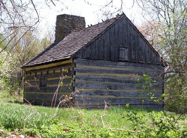 7. The Neill Log House