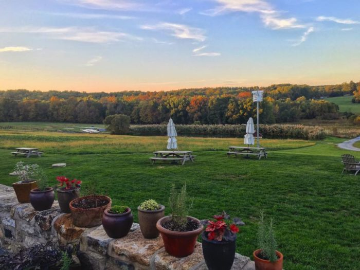 Visit this remote Pennsylvania farm for lunch Wednesday through Saturday from 11 a.m. to 3 p.m., dinner Wednesday through Sunday from 5 p.m. to 9 p.m., and Sunday brunch from 10 a.m. to 3 p.m. Reservations, although not required, are recommended.