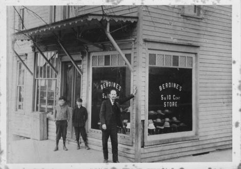 Berdine's Five & Dime has been in business since 1908.