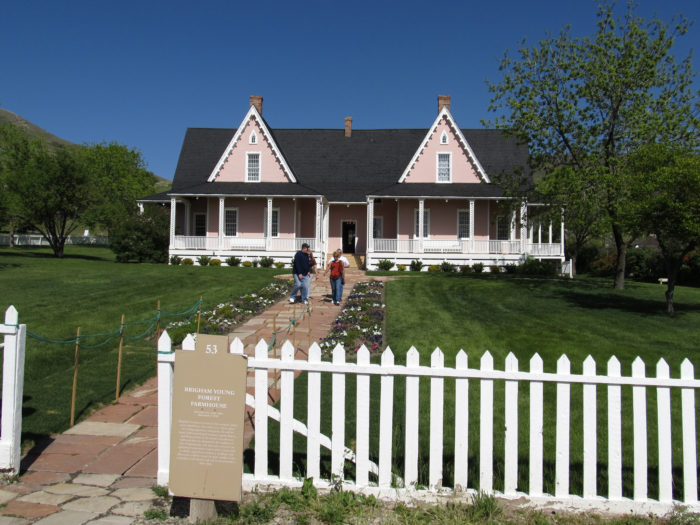 Brigham Young Farmhouse, This is the Place Monument