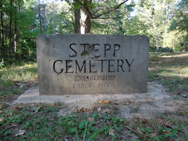 6. Stepp Cemetery - Martinsville