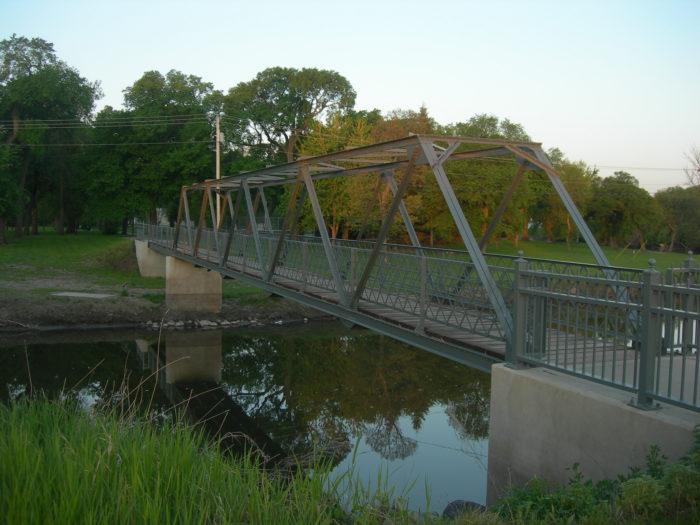 From smaller footbridges...
