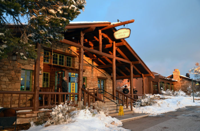 7. Book a stay at the El Tovar Hotel, a historic hotel that offers a rustic experience at the edge of the canyon.