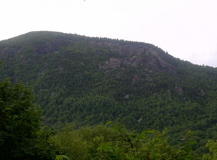 10.  Mount Horrid's Great Cliff