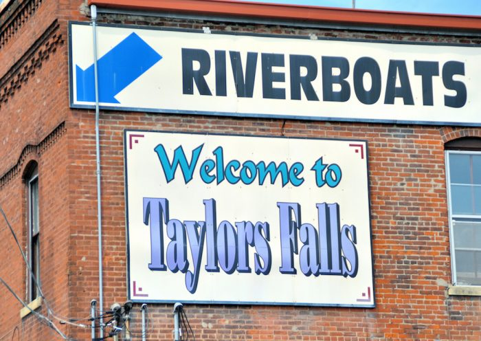 Taylors Fall is one of Minnesota's cutest river towns. It's a great place year-round, but its location on the St. Croix River makes it unbeatable in the fall.