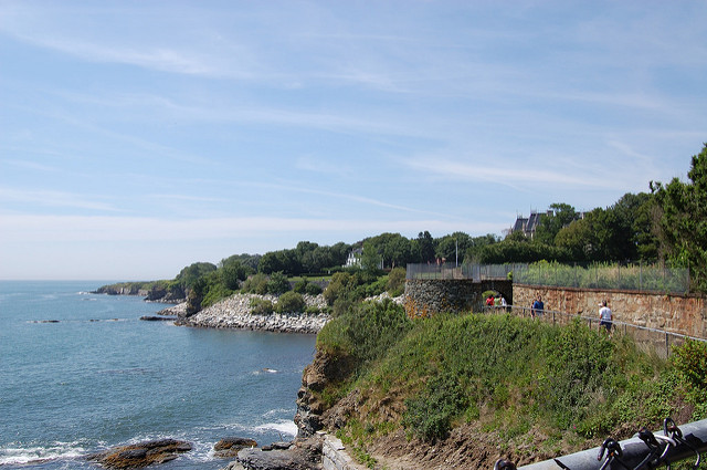 6. Cliff Walk and Mansions, Newport