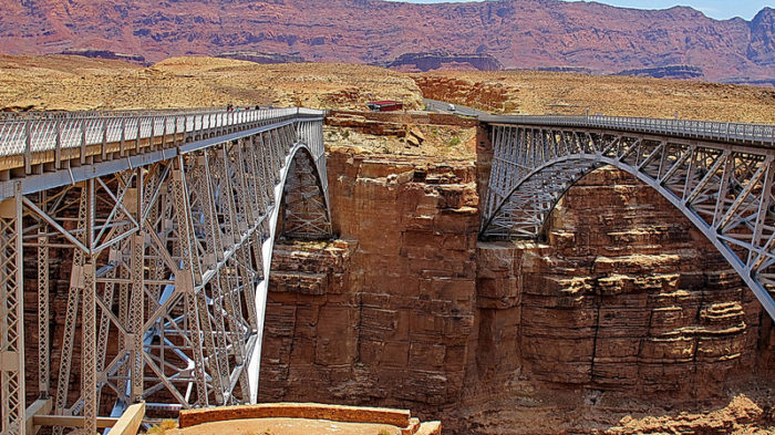 This part of the state is probably one of the least accessible! Through Arizona, you can only access it through Routes 89 and 89A by driving over Marble Canyon and the Colorado River or by hiking through the Grand Canyon to the North Rim.