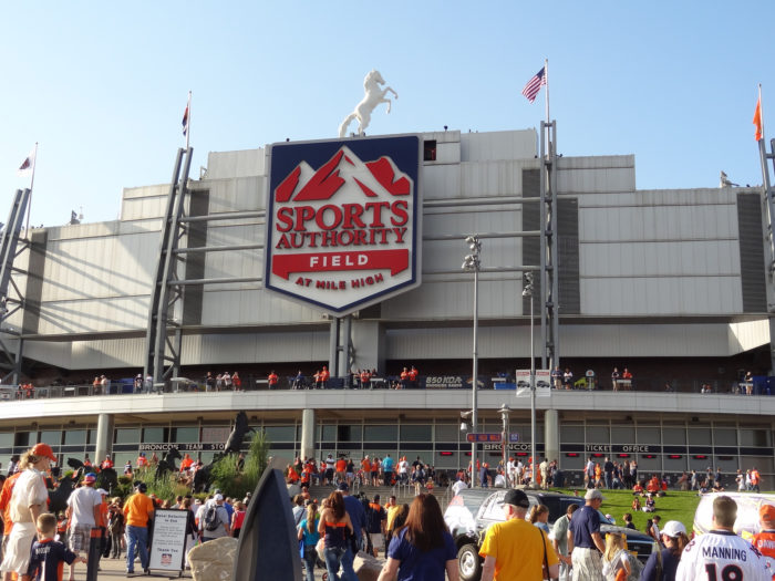 4. Cheer for our beloved Broncos at Mile High.