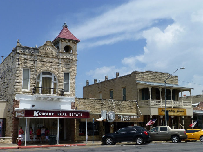 Fredericksburg is the ideal town to spend a fall day in.