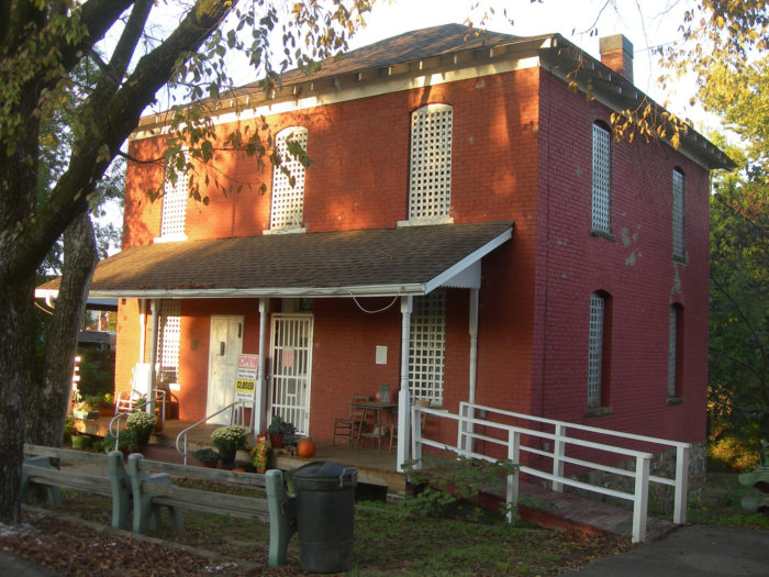 The old Logan County Jail is now a museum.