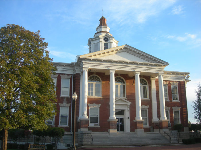 The historic Logan County Courthouse is a wonder all its own.