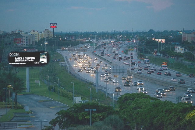 The second deadliest highway on the list also runs through Florida. There were 204 fatalities on I-95 in 2014, the year used in the study. The stretch of I-95 through Miami-Dade and Broward is considered particularly dangerous. According to the legal resources site HG.org, this 382-mile stretch of road is the deadliest in the country, with 1.73 fatal accidents per mile. Distracted drivers play a major role in Florida's high accident rates.